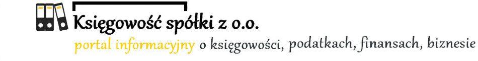 Księgowość Spółki z o.o.